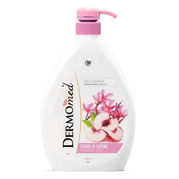 Течен сапун DERMOMED Бяла Праскова 1 л.